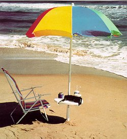 The Sand Anchor with Umbrella